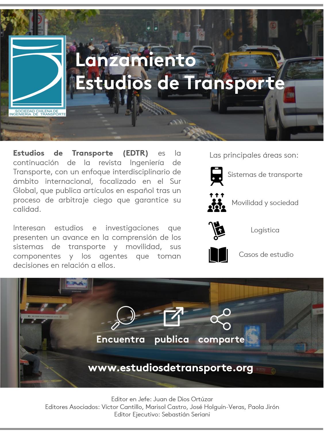 Directorio presenta – Revista Estudios de Transporte